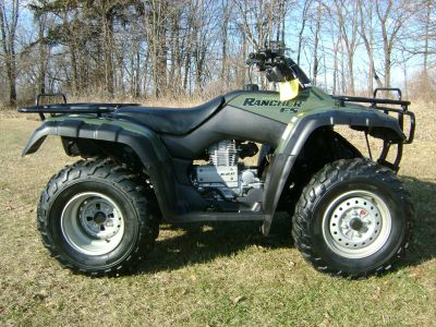 2002 Honda TRX350FE RANCHER 4X4 ATV Utility ATVs Freeport, IL