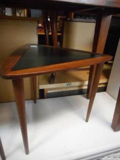 MCM Triangle End Table (s)