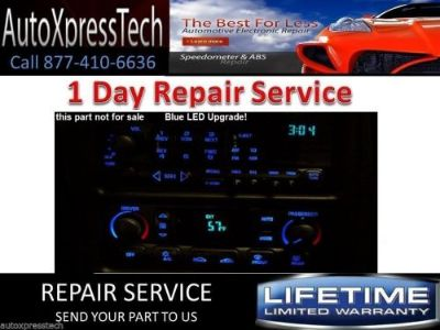 Purchase Corvette Climate Control TEMP Display repair LED rebuild upgrade service 2000 motorcycle in Brockton, Massachusetts, United States, for US $49.99