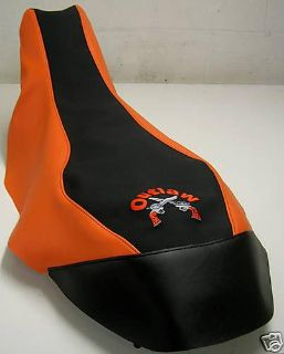 Purchase polaris outlaw 500 525 black GRIPPER/ orange seat cover motorcycle in Howard, Pennsylvania, US, for US $38.99
