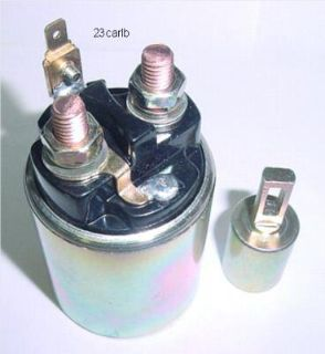 Purchase STARTER SOLENOID CHEVROLET CHEVETTE ISUZU I-MARK PONTIAC ACADIAN THERMO KING motorcycle in Lexington, Oklahoma, US, for US $48.95