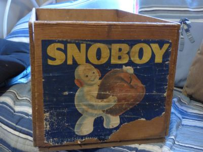 SNOBOY fruit crate