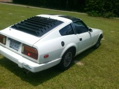 1980 white Datsun 280zx for sale