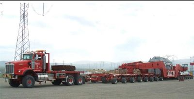 2004 R Tech Dual Lane Heavy Haul Trailer