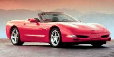 2001 Chevrolet Corvette Base (Magnetic Red II Metallic)