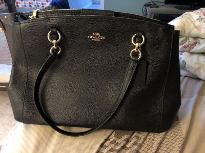 Authentic BNWT Leather Coach Purse