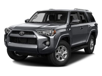 2016 Toyota 4Runner SR5 (Midnight Black Metallic)