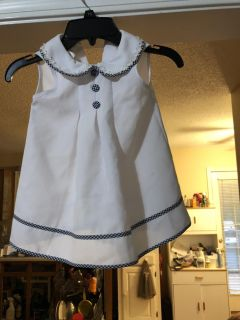 Toddler Dress with Jacket and Hat