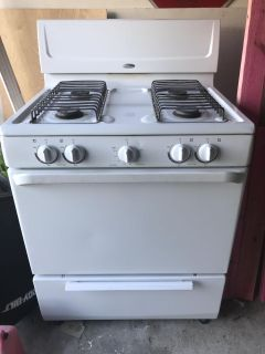 Whirlpool Gas Stovetop/Oven