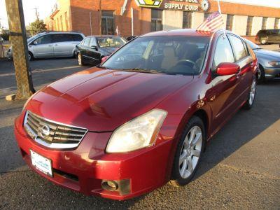 2007 Nissan Maxima 3.5 SE (Red)