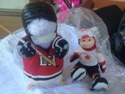 hockey player dancer/dolls