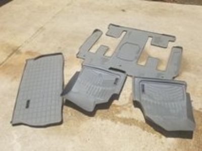 Weather Tech floor mats for Chevy Traverse