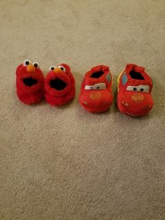 Toddler boy size 7/8 slippers