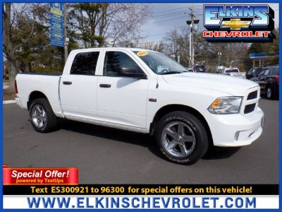 2014 RAM RSX Tradesman (Bright White Clearcoat)