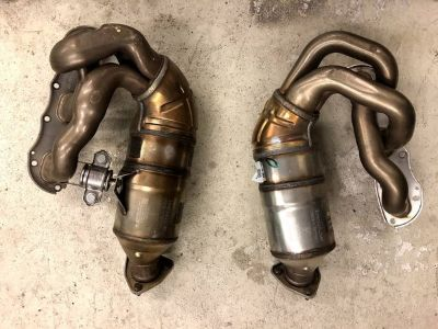 997 Cayman S or 987 Boxster S Exhaust Manifold w/ Catalytic