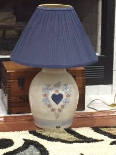 Table and Swag lamp