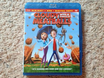 Cloudy with a chance of Meatballs BluRay