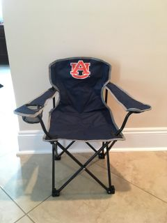 New Youth NCAA Auburn Folding Chair with Carrying Bag