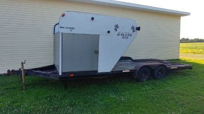 Car Trailer with Winch & Storage