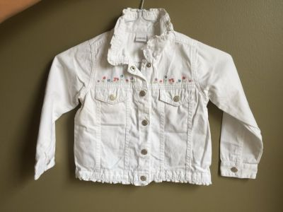 Girls Adorable 5T Jean Jacket