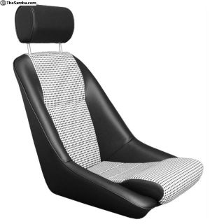 Touring Seat, Leatherette / houndstooth. Porsche