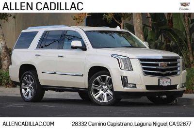 2015 Cadillac Escalade Premium (White Diamond Pearl)