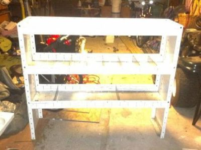 $150 Large Utility Van Shelving Unit with Dividers