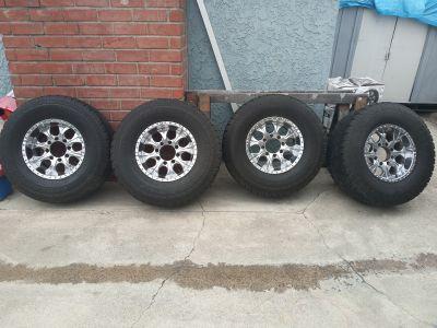 4 Yokohams with wheels 99% tread life