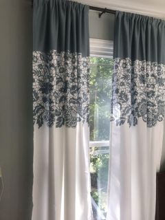 Curtain Drapes 84 inches