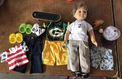 American Girl Boy Doll and lots of Accessories
