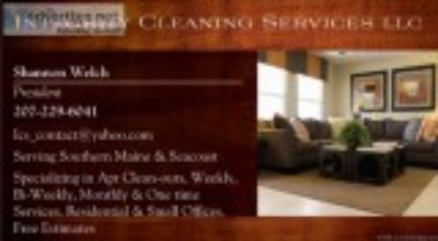 Apartment Clean-outs and home cleaning INSURED