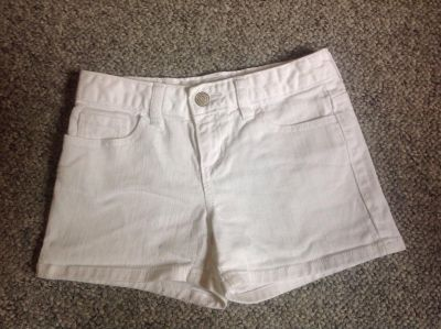 Old Navy White Jeans Shorts Size 8