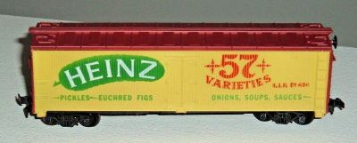 Tyco HO Scale Heinz 57 Varieties 40' Billboard Reefer Car Rd # HJH 484