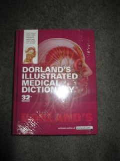 $45 OBO Dorland's Illustrated Medical Dictionary 32nd Edition
