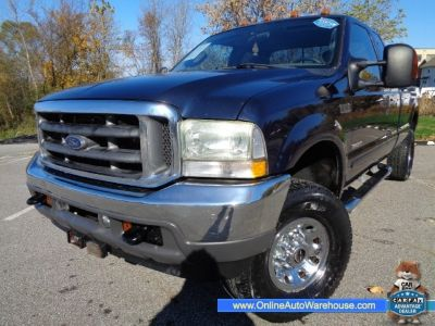 2003 Ford Super Duty F-250 4X4 SUPERCAB DIESEL LONG BED GOOSENECK