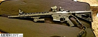For Sale/Trade: American Tactical AR 15 with Quadrail