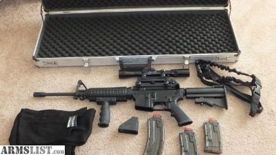 For Sale: AR15 22LR 22 Superior arms Model 1 with case and extras