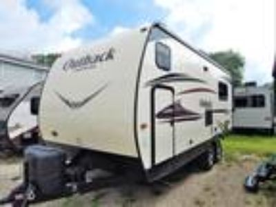 2015 Keystone Outback Terrain 210TRS Rear King Bed Slide, Front Bunks