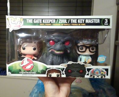Funko POP Ghostbusters 3-pack Exclusive