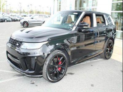 2018 Land Rover Range Rover Sport V8 Supercharged SVR (Santorini Black Metallic)