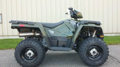 2018 Polaris Sportsman 450 H.O. Utility ATVs Adams, MA