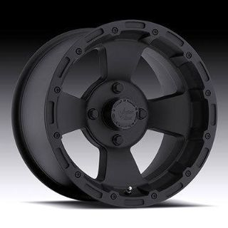 "Purchase 14"" Vision 161 Bruiser ATV Wheels 14X8 4X110 BS2"" Matte Black 161-148110B2 motorcycle in Holt, Michigan, US, for US $100.00"
