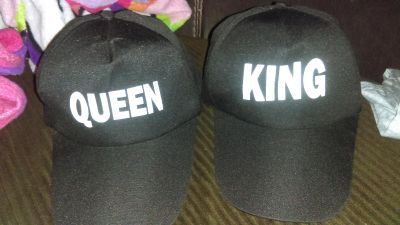 Brand new king and queen snap backs