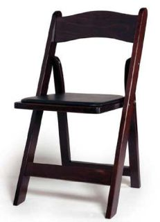 DISCOUNT WOOD FOLDING CHAIRS WITH COMFORT CUSHION