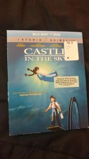 Castle in the sky DVD/blu-Ray combo