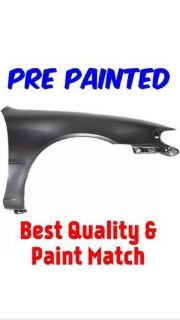 Purchase 1998-2002 Toyota Corolla PRE PAINTED TO MATCH Passenger Right Front Fender motorcycle in Holland, Michigan, United States, for US $190.00
