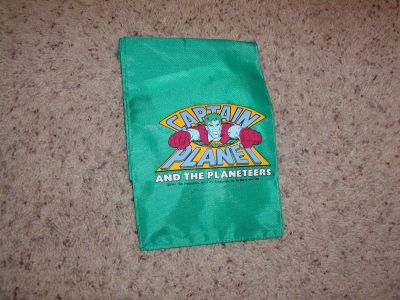 Vintage Captain Planet and The Planeteers Lunchbox Bag 1990's - NEW CONDITION