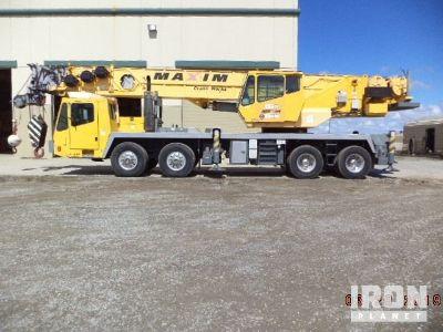 2001 Grove TMS875 Hydraulic Truck Crane