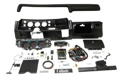 Purchase 1971 CHEVELLE SS DASH KIT TACH GAUGES RADIO WITH AIR COND COMPLETE EL CAMINO motorcycle in Fullerton, California, United States, for US $2,269.95