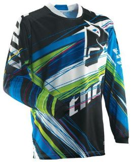 Find Thor Phase Vented Wired Jersey Blue Green Small NEW 2014 motorcycle in Elkhart, Indiana, US, for US $39.95